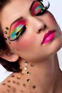 teczowy-makijaz